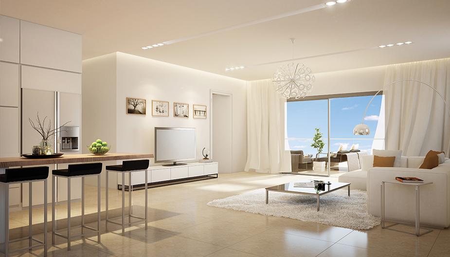 דירות למכירה בנס ציונה - סלון