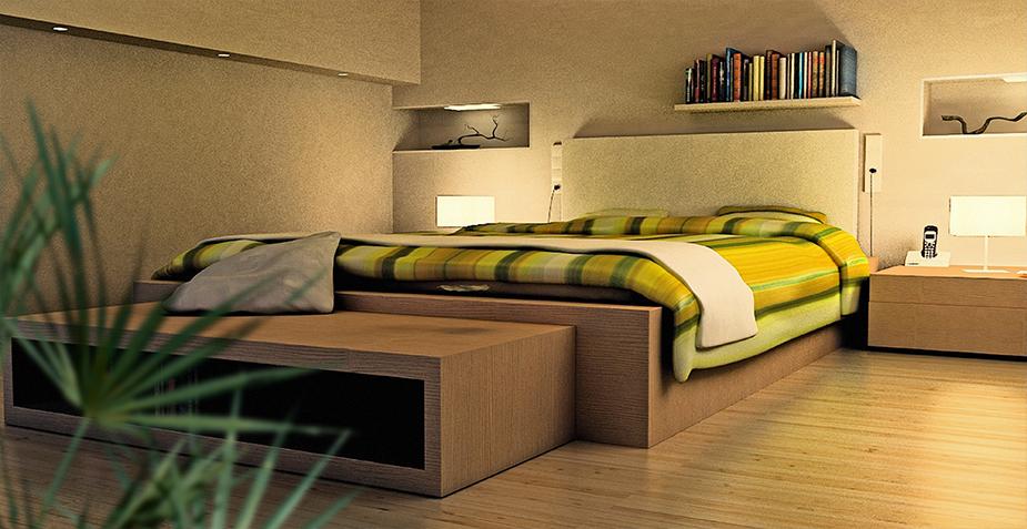 דירות למכירה בנס ציונה - חדר שינה VIEW