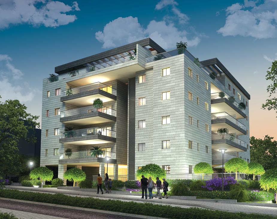 פרויקט חלום ראשון - רק דירות יוקרה