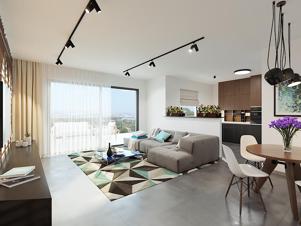 דירת 5 חדרים בפרויקט ויצמן 4 ראשון לציון