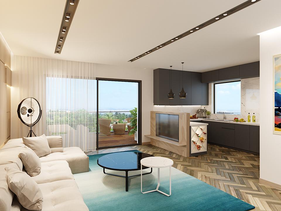 דירת 4 חדרים - פרויקט חדש בראשון לציון